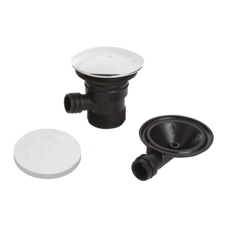 Bristan Round Clicker Bath Waste with Overflow Chrome