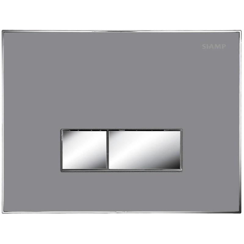Bathrooms To Love Album Flush Plate Flat Grey