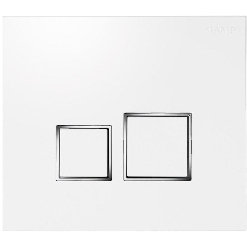 Bathrooms To Love Square Flush Plate White
