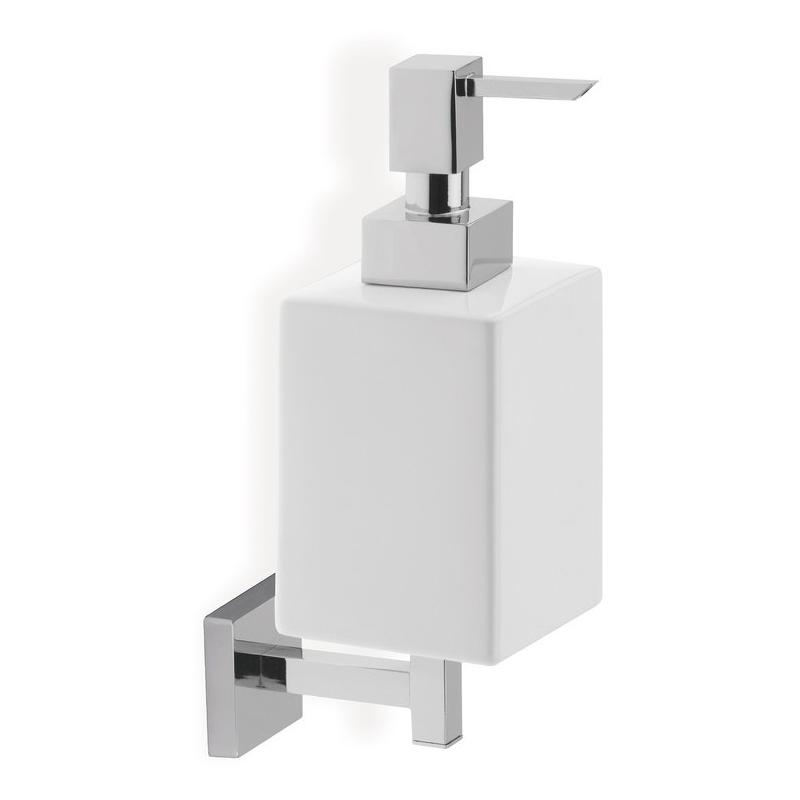 Bathrooms To Love Lissi Wall Soap Dispenser Chrome & White