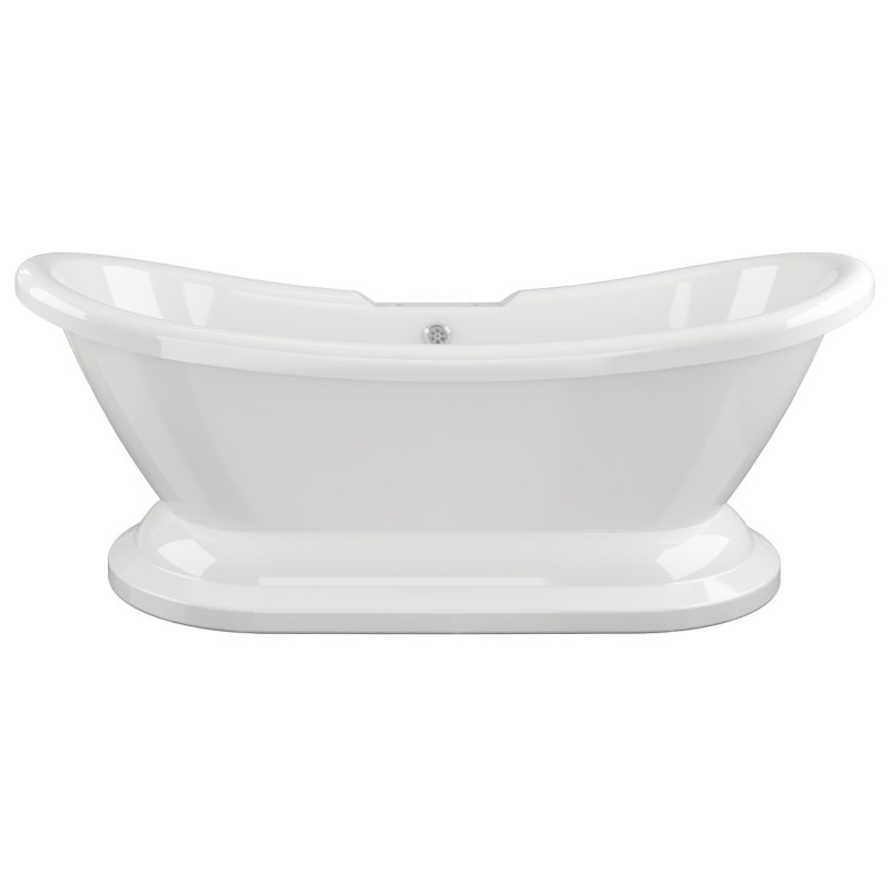 Bathrooms To Love Grace Freestanding 2 Hole Bath with Base