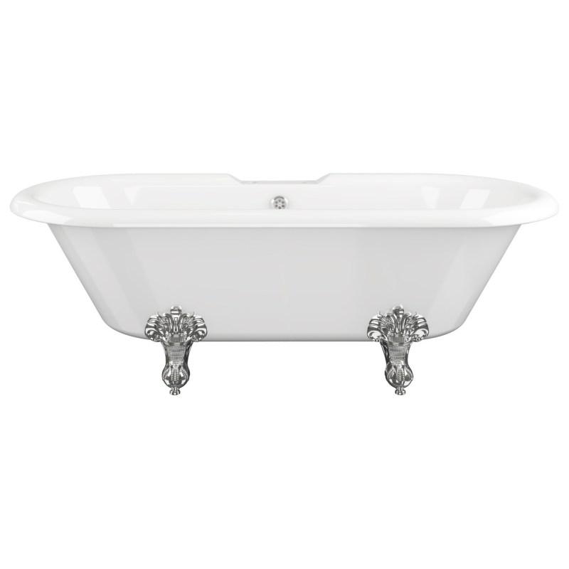 Bathrooms To Love Richmond Freestanding 2 Hole Bath White