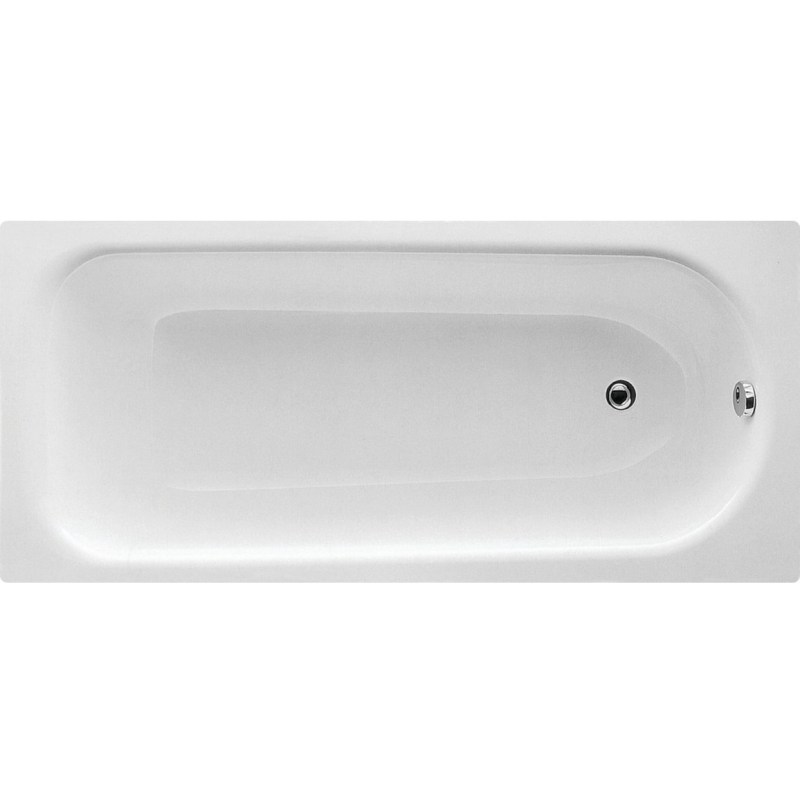 Bathrooms To Love Eurowa Steel 1500x700 2 Hole Bath & Leg Set