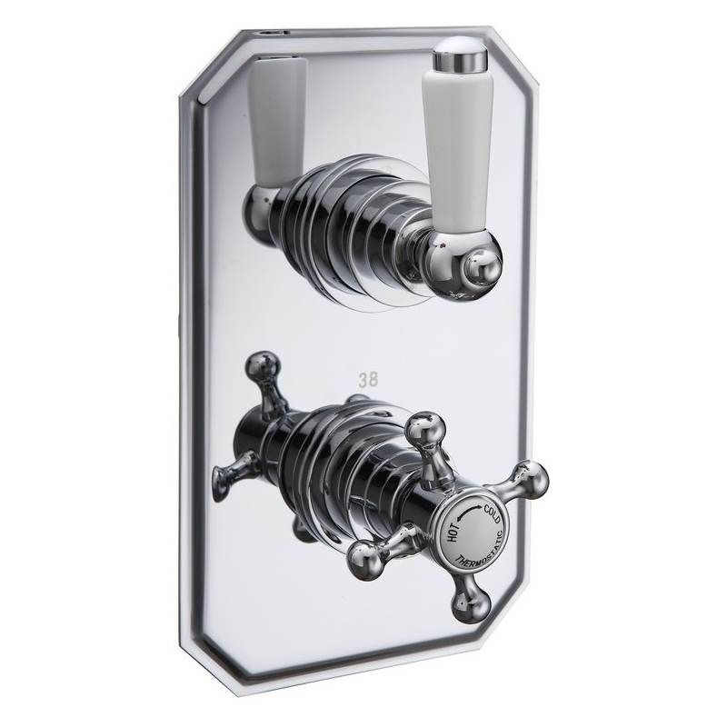 Bathrooms To Love Traditional Lever Single Outlet Shower Valve