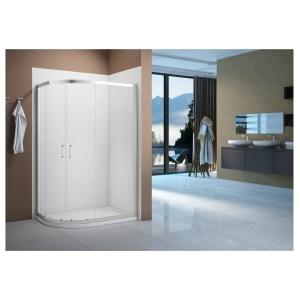 Merlyn Vivid Boost 900x800mm 2 Door Offset Quadrant Enclosure