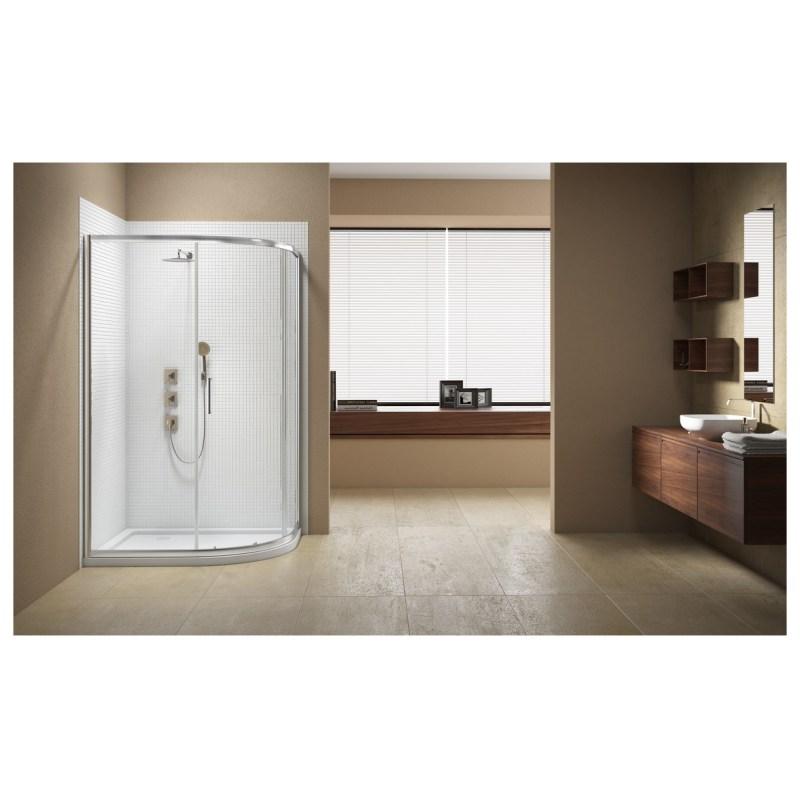 Merlyn Vivid Sublime 1200x800mm 1 Door Offset Quadrant Enclosure