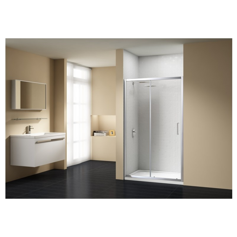 Merlyn Vivid Sublime 1700mm Sliding Shower Door