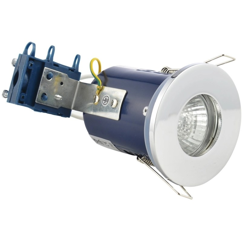 Bathrooms To Love Fire Rated Shower Downlight Chrome