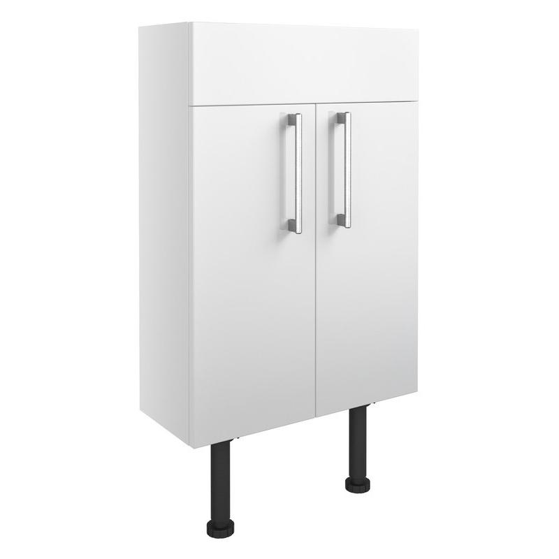 Bathrooms To Love Alba 500mm Slim Vanity Unit White Gloss
