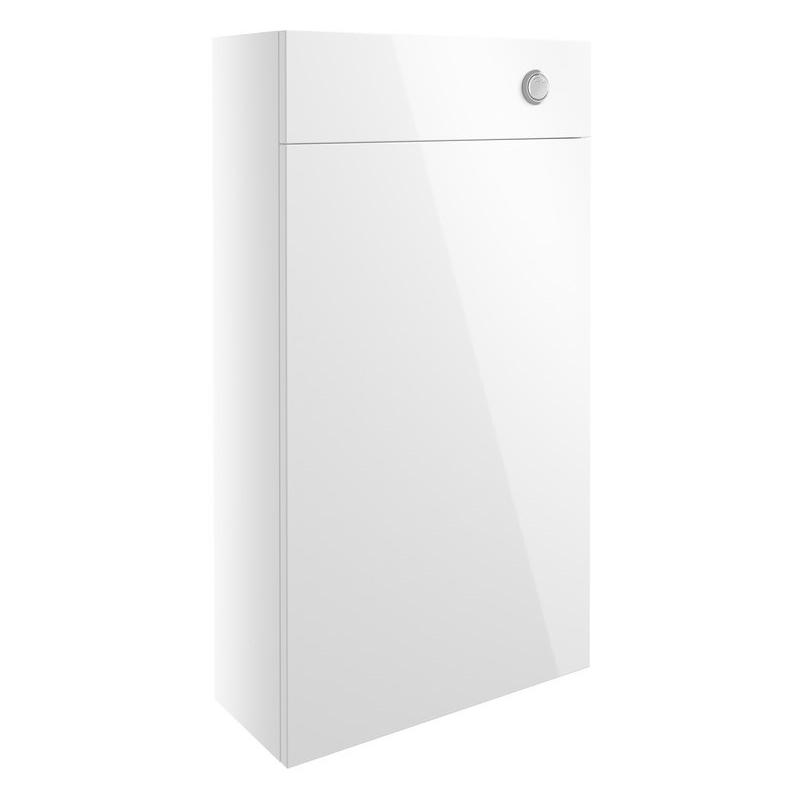 Bathrooms To Love Alba 500mm Slim WC Unit White Gloss