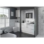 Bathrooms To Love Alba 600mm Slim WC Unit White Gloss