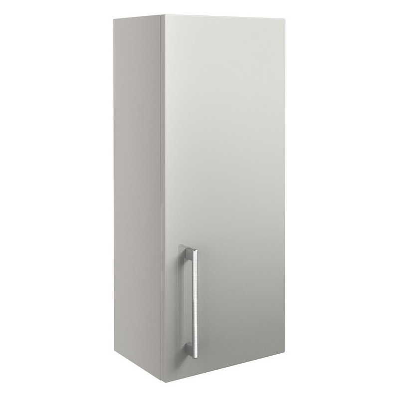 Bathrooms To Love Alba 300mm Wall Unit Light Grey Gloss