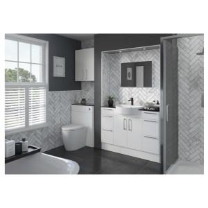 Bathrooms To Love Alba 2400mm Plinth White Gloss