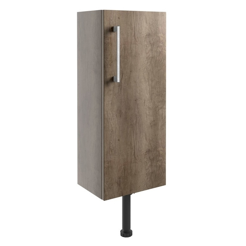 Bathrooms To Love Alba 300mm Slim Base Unit Grey Nebraska Oak