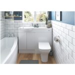 Bathrooms To Love Valesso 500mm Slim WC Unit White Gloss