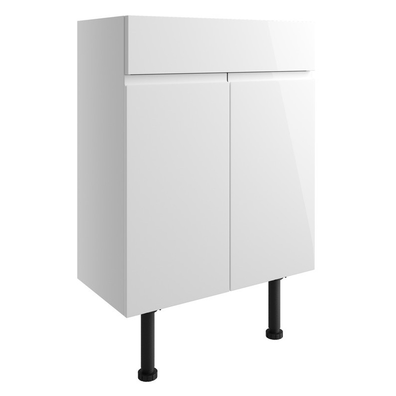 Bathrooms To Love Valesso 600mm Vanity Unit White Gloss