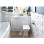 Bathrooms To Love Valesso 600mm Slim Vanity Unit White Gloss