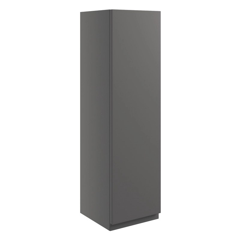 Bathrooms To Love Valesso 200mm Wall Unit Onyx Grey Gloss