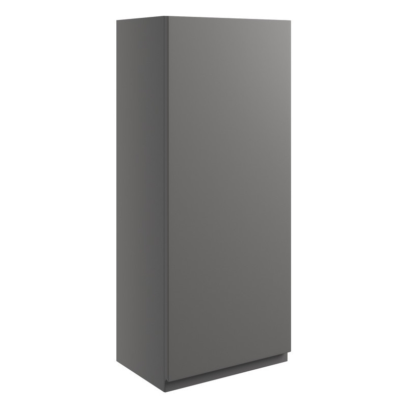 Bathrooms To Love Valesso 300mm Wall Unit Onyx Grey Gloss