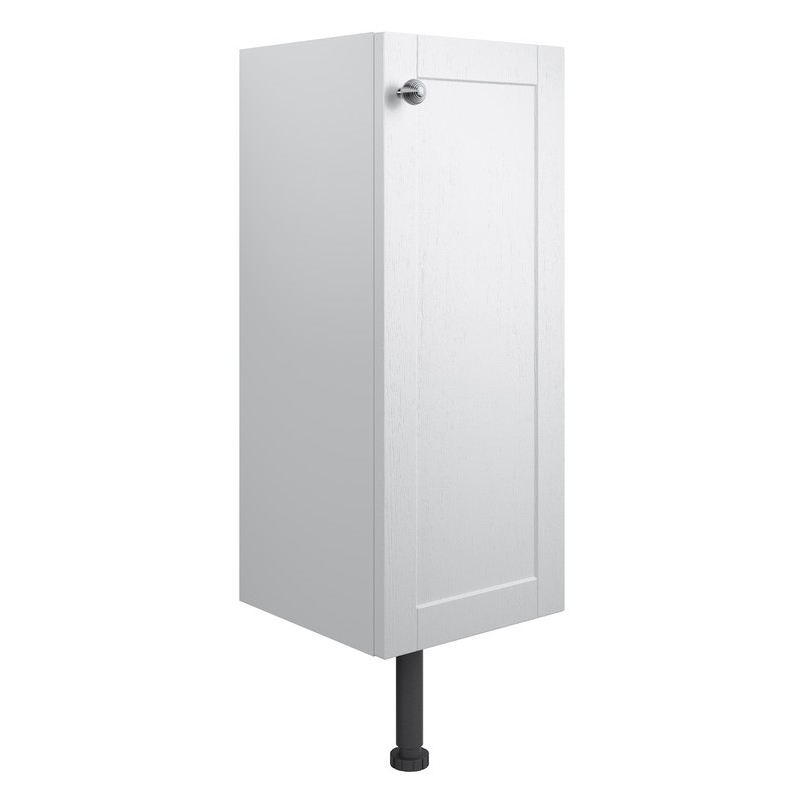 Bathrooms To Love Benita 300mm 1 Door Base Unit Satin White Ash