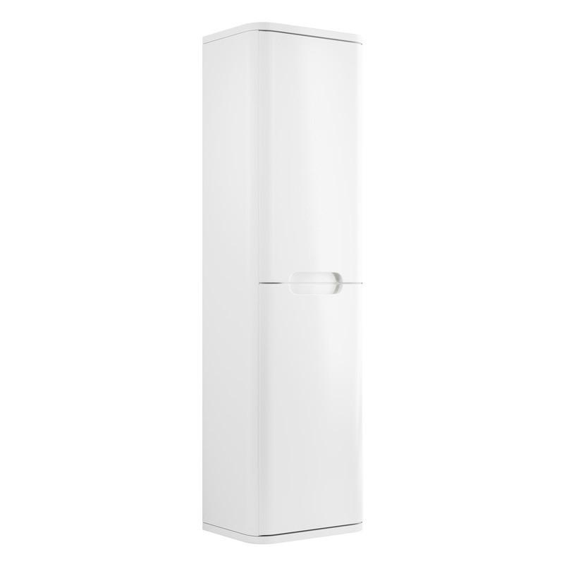 Bathrooms To Love Lambra 350mm 2 Door Tall Unit White Gloss