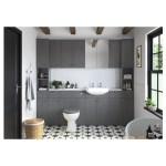 Bathrooms To Love Lucia/Benita Soft Close Toilet Seat Grey Ash