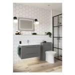 Bathrooms To Love Morina 800mm Wall Vanity Unit Matt Urban Grey