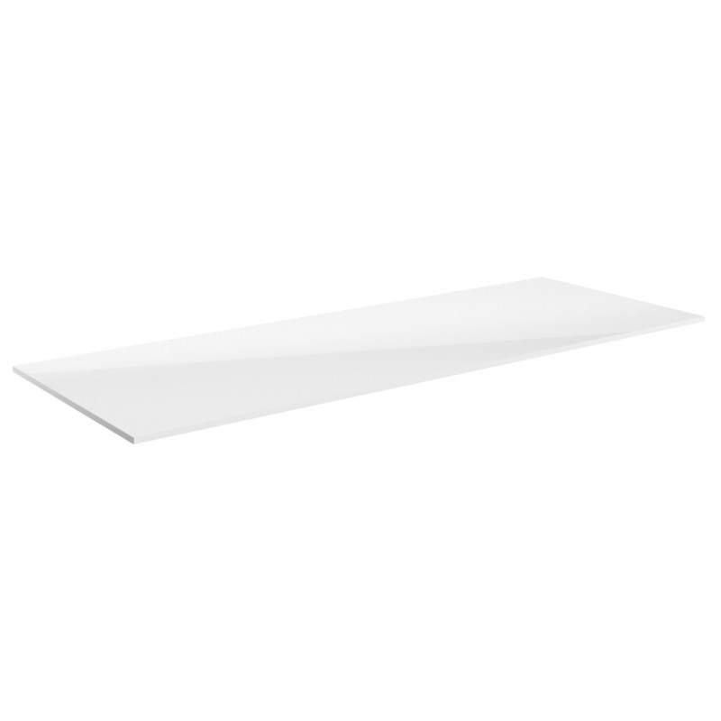 Bathrooms To Love Carino 1205mm Laminate Worktop White Gloss