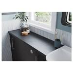 Bathrooms To Love Alba 500mm 2 Door Basin Unit Matt Grey