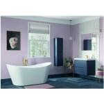 Bathrooms To Love Lambra 800mm Wall Unit & Basin Matt Indigo