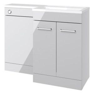 Bathrooms To Love Venosa 1100mm Floor L-Shape Pack RH Grey