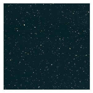 Bathrooms To Love Sparkle 2500mm Laminate Worktop Black Gloss