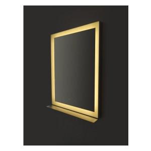 Bathrooms To Love Lecco 800x600mm Edge-Lit Rectangular Mirror