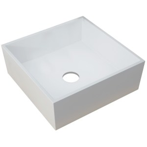 Bathrooms To Love Sabina 426mm Square Resin Basin