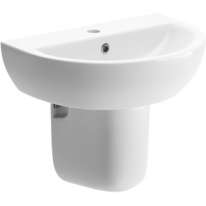 Bathrooms To Love Tuscany 550x400mm Basin & Semi Pedestal