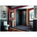 Bathrooms To Love Cedarwood Open Back WC & Soft Close Seat
