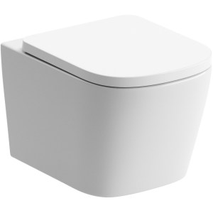 Bathrooms To Love Tilia Rimless Wall Hung WC & Soft Close Seat
