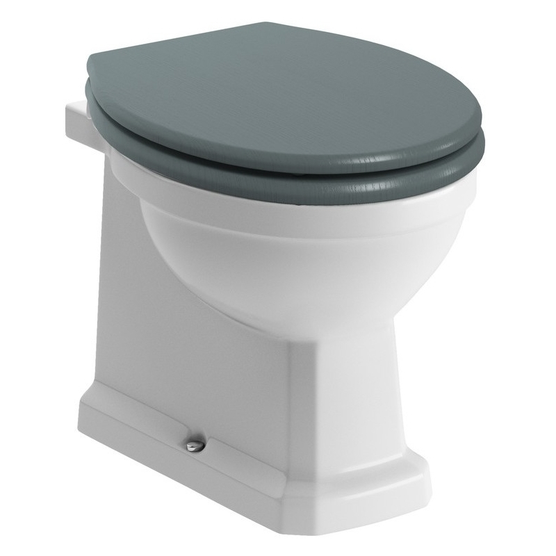 Bathrooms To Love Sherbourne Back To Wall WC & Sea Green Seat