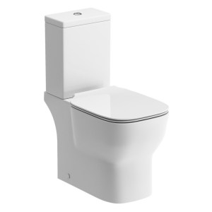 Bathrooms To Love Senna Open Back WC & Soft Close Seat