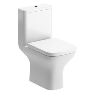 Bathrooms To Love Cedarwood Open Back Toilet with Wrapover Seat