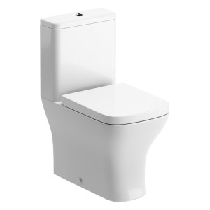 Bathrooms To Love Cedarwood Fully Shrouded Toilet with Wrapover Seat