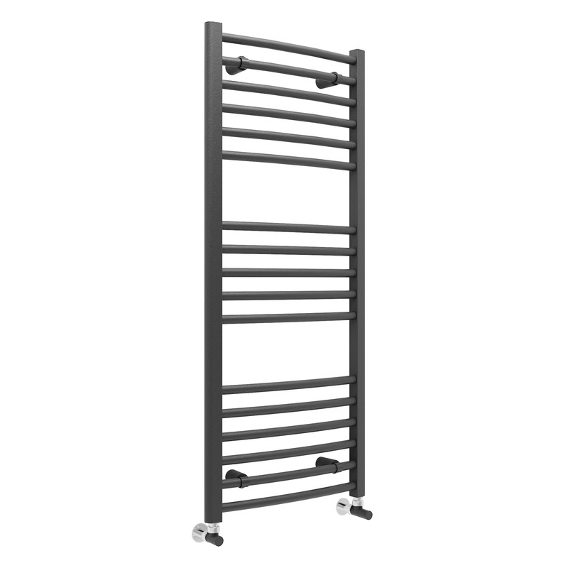 Bathrooms To Love Grada Curved Ladder Radiator 500x1200mm Anthracite