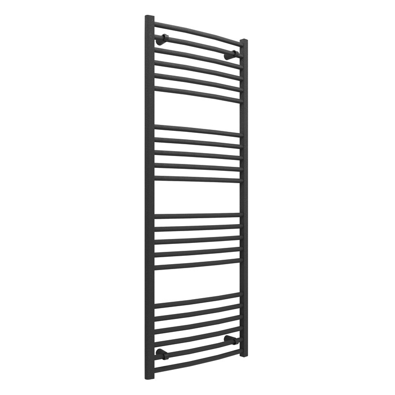 Bathrooms To Love Grada Curved Ladder Radiator 500x1600mm Anthracite