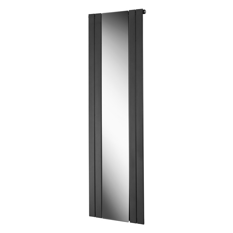 Bathrooms To Love Portra Mirrored Radiator 605x1800mm Anthracite