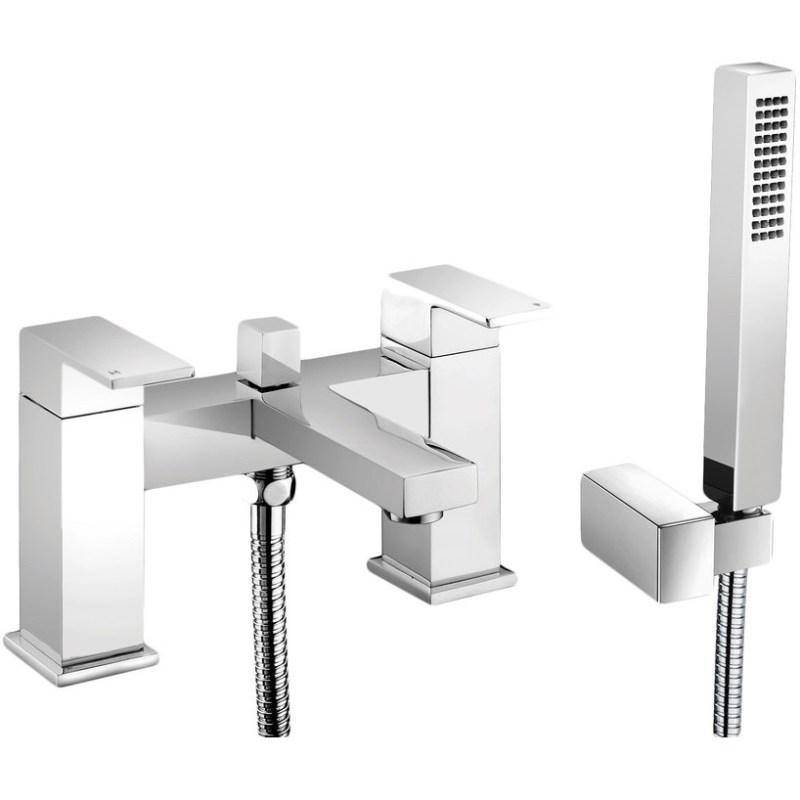 Bathrooms To Love Quadro Bath Shower Mixer with Shower Kit