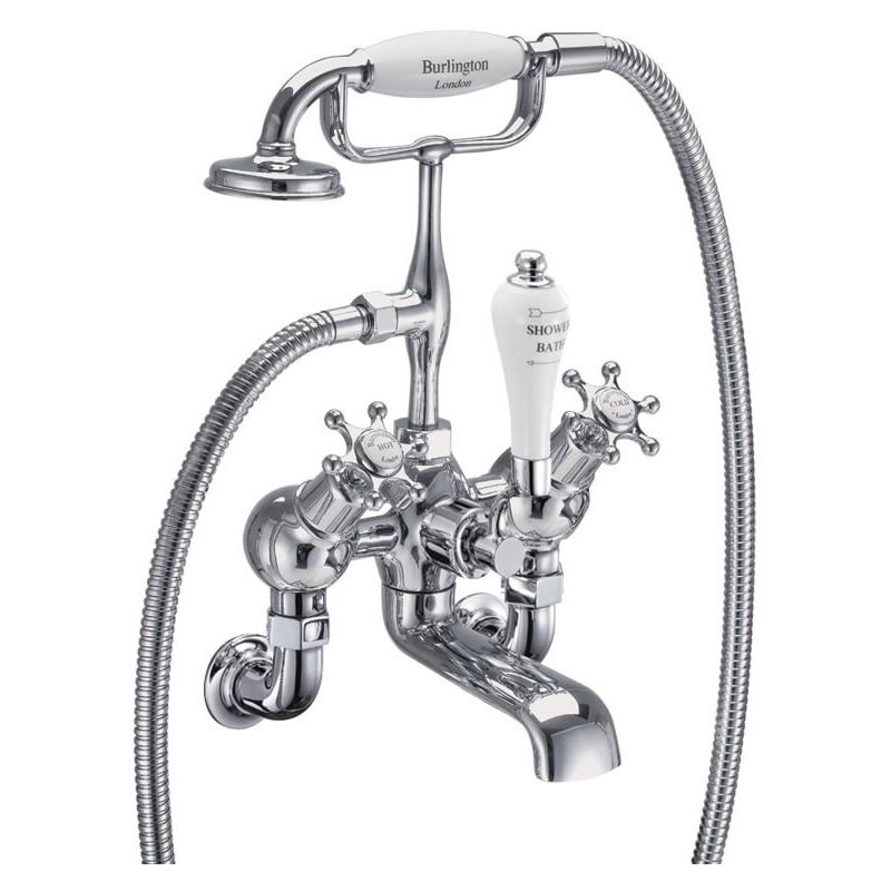 Burlington Birkenhead Angled Wall Mounted Bath Shower Mixer