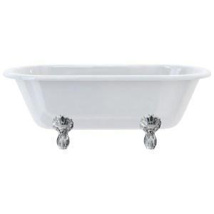Burlington Windsor 170cm Double Ended Bath, Luxury Feet