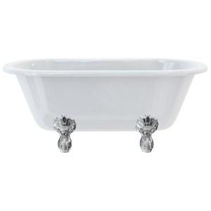 Burlington Windsor 150cm Double Ended Bath with Luxury Feet
