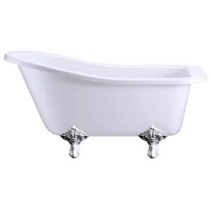 Burlington Buckingham 150cm Slipper Bath with Standard Feet