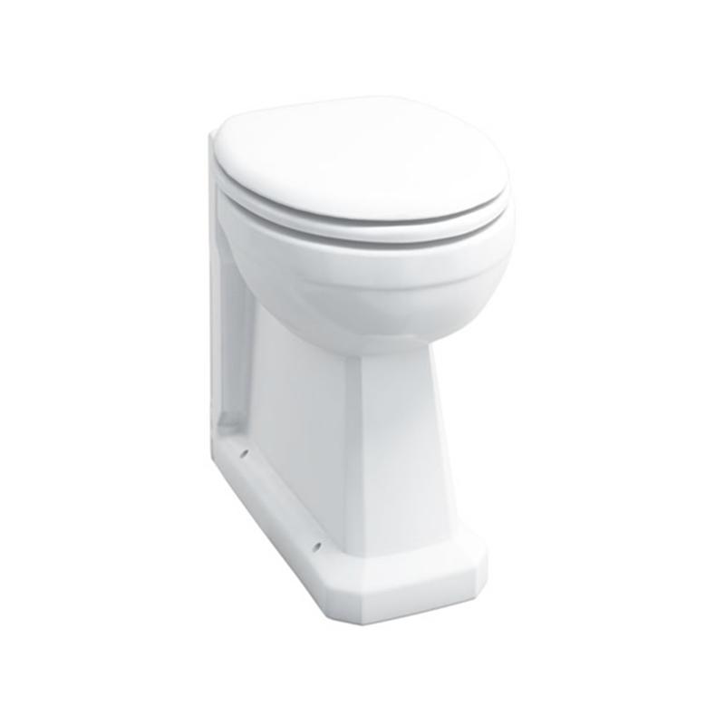 Burlington Regal Back-To-Wall WC Pan